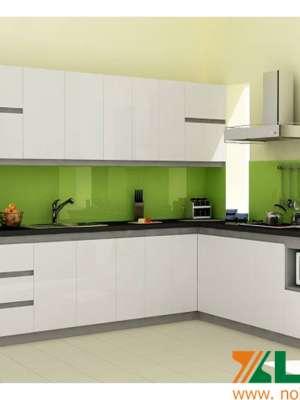 Cửa kính cường lực phòng nấu ăn