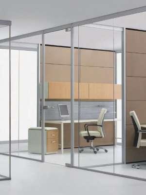 Cửa kính cường lực cho văn phòng